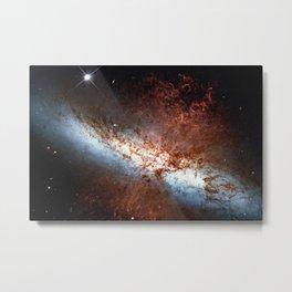 Messier 82, Cigar Galaxy or M82 in the constellation Ursa Major Metal Print
