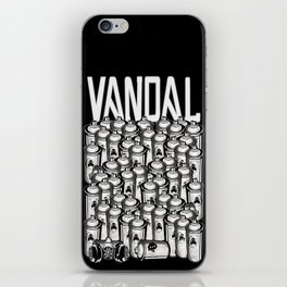 VANDAL and SPRAY CANS iPhone Skin