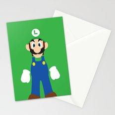 Luigi - Minimalist - Nintendo Stationery Cards