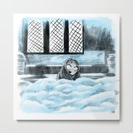 Moaning Myrtle Metal Print