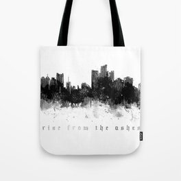 Detroit Rise From The Ashes Tote Bag