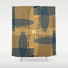 Texture 1973 Shower Curtain
