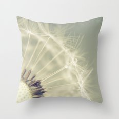 When it rains Throw Pillow