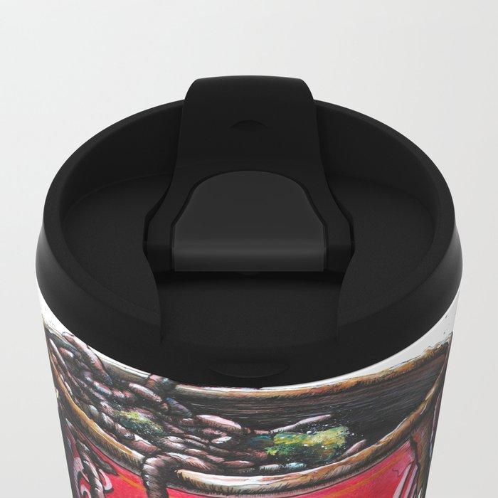 Cream of Vegetable Metal Travel Mug
