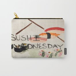 Sushi Wednesday  Carry-All Pouch