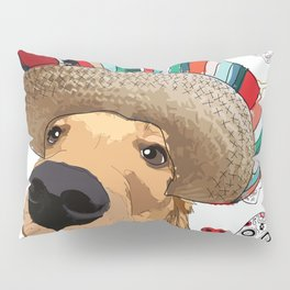 Cinco de Retriever Pillow Sham
