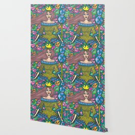 Queen of Candy Hearts Wallpaper