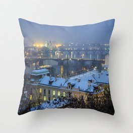 Prague 2 Throw Pillow