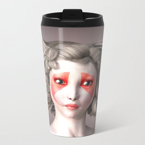 Japanese fashion model Metal Travel Mug