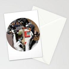 Crazy Woman - LisaLaraMix · Crop Circle Stationery Cards