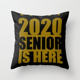 Pensioners 2020 Is Here Throw Pillow