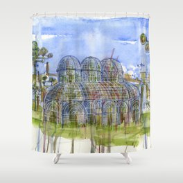 Botanical Garden Curitiba jardim botanico Shower Curtain