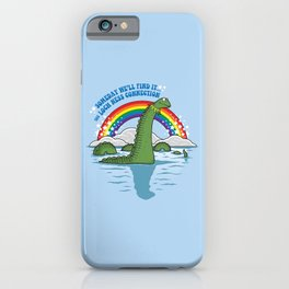 The Lochness Connection iPhone Case