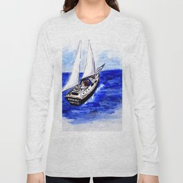 Sailing Away Long Sleeve T-shirt