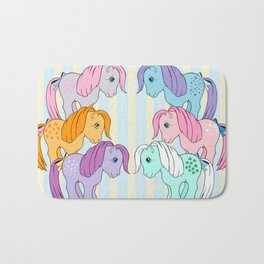 g1 my little pony collectors Bath Mat