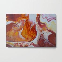 Amber Visions Metal Print
