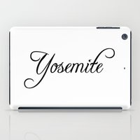 yosemite iPad Cases featuring Yosemite by Blocks & Boroughs