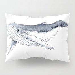 Baby humpback whale (Megaptera novaeangliae) Pillow Sham