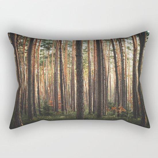 Through The Wood Rectangular Pillow
