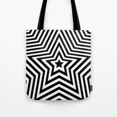 Stars - black & white vers. Tote Bag