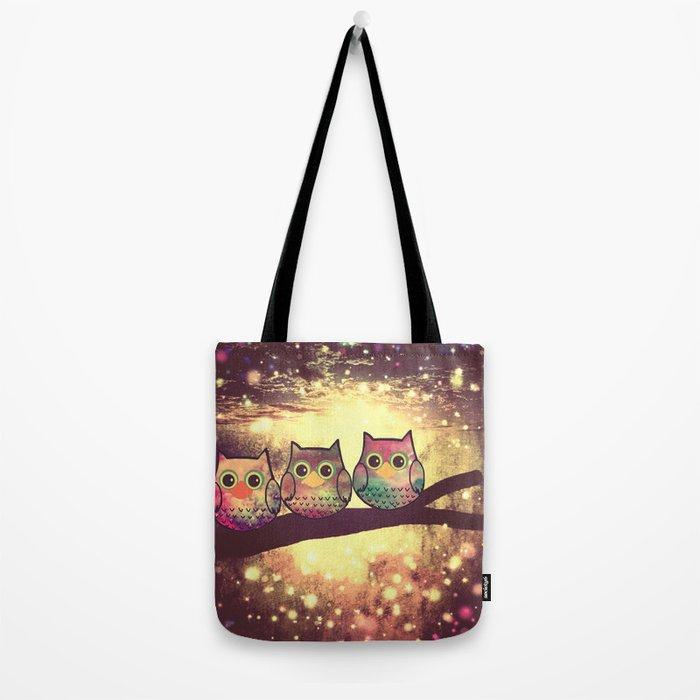 owl-246 Tote Bag