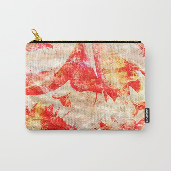 Abstract Amaryllis Carry-All Pouch