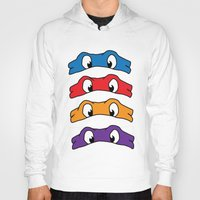 tmnt Hoodies featuring TMNT by Kaylabeaisaflea