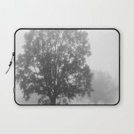 Trees on a Misty Morning Laptop Sleeve