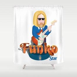 Funko Star Shower Curtain