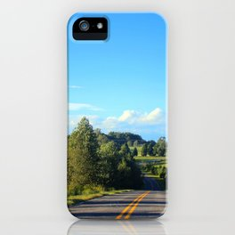Down A Country Road iPhone Case