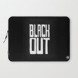 Black Out Laptop Sleeve