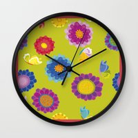 ukraine Wall Clocks featuring Picturesque Ukraine by rusanovska