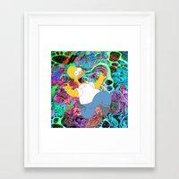 homer Framed Art Prints featuring HOMER by Fernando P.