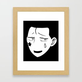 Hisoka HunterXHunter Framed Art Print