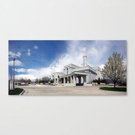Mt. Timpanogos LDS Temple Canvas Print