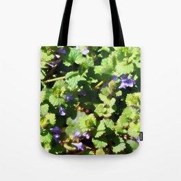Ground Ivy 06 Tote Bag