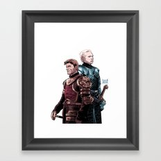 MAIDEN FAIR Framed Art Print