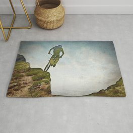 Biking Off Road Rug