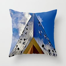 When music touches the sky Throw Pillow