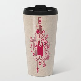 Ghibli Pattern Poster Project / Spirited Away  Travel Mug