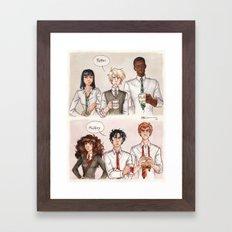 Potter - Malfoy Framed Art Print