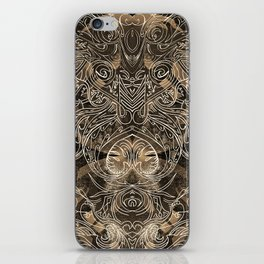 Tracery Mantis iPhone Skin