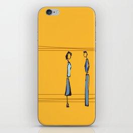 Woman and Man in Utah iPhone Skin
