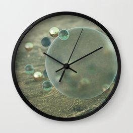 Lost Marbles Wall Clock