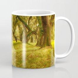 Yellow morning in Georgia Coffee Mug