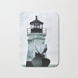 Vermillion Lighthouse Bath Mat