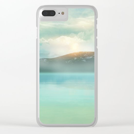 Pastel vibes 52 Clear iPhone Case