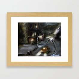 Pops ride.. Framed Art Print