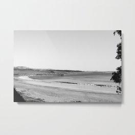 San Simeon Point Pier 2 Metal Print