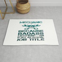 BADASS Mechanic Rug